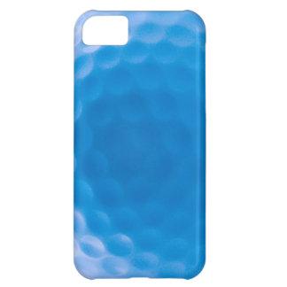 Arktiska blått för golfbollstrukturskrattgropar iPhone 5C fodral