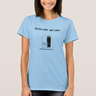 Ärlig halv liter (damer) tee shirts