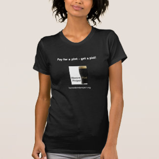 Ärlig halv liter (dammörk) tröjor