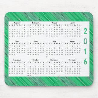 Årlig kalender för gröntShapedesign 2016 Musmatta