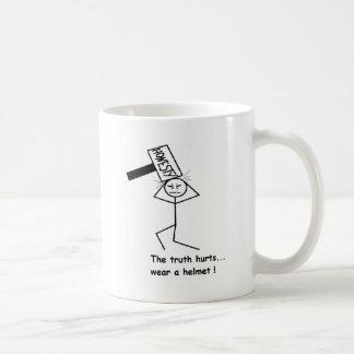 Ärlighet bultar kaffemugg
