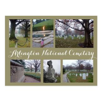 Arlington kyrkogårdCollage Vykort