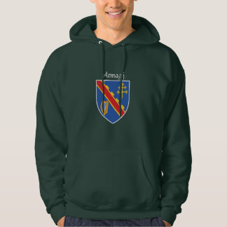 Armagh Hooded svettskjorta Tröja Med Luva