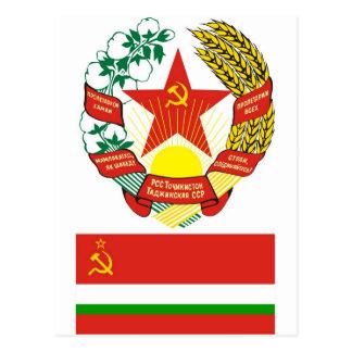 Ärmarna och sjunker Tadjik den sovjetiska Vykort