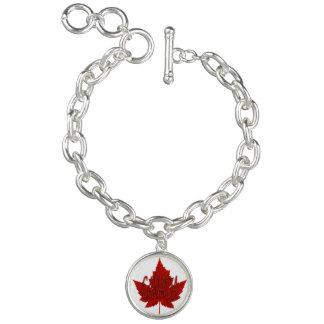 Armband för Kanada armbandKanada lönnlöv