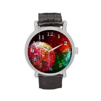 Armbandsur för boll för disko för 70-tal för