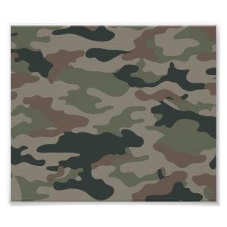 Armékamouflage i grönt- och bruntmilitär fotokonst