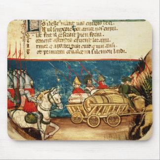 Armén av Charlemagne och transporten Musmatta