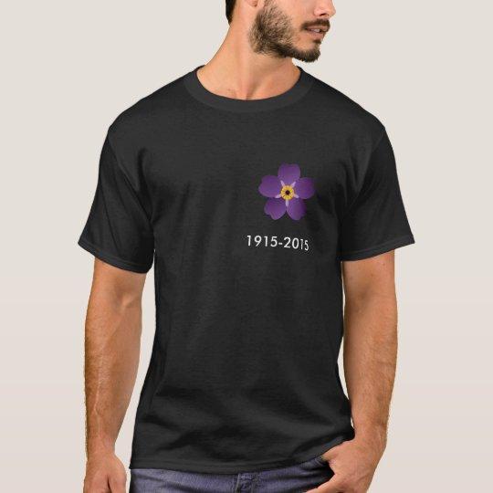 Armenian Genocide 100th anniversary t-shirt