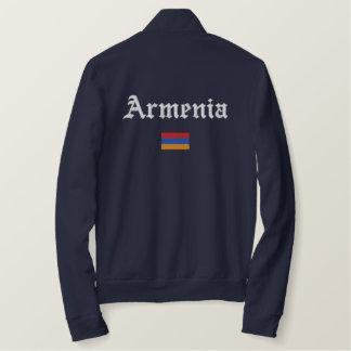 Armenien flagga broderad jacka