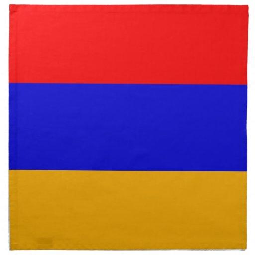 Armenien flagga på den MoJo servetten Servetter