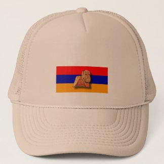 """Armenier """"oss och för våra berg"""" truckerkeps"""
