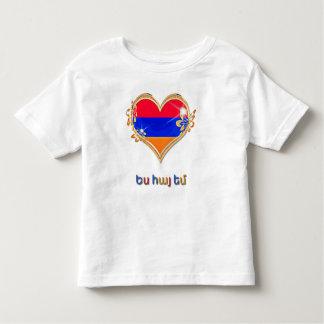 Armenisk småbarnbraJersey T-tröja T Shirt