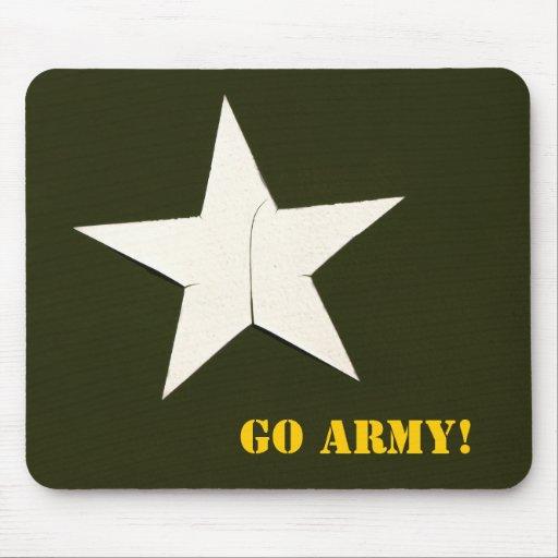 arméstjärnan, går armén! musmattor