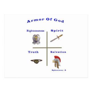 Armor av gudprodukter vykort