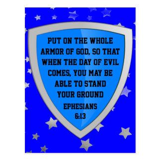 armor av gudvykortet vykort