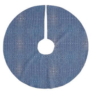 Armor för Look för blåttTungstenChainmail metall Julgransmatta Borstad Polyester
