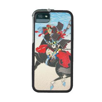 Armored Samuraikrigare för klassiker som rider en  iPhone 5/5C Mobile Skal