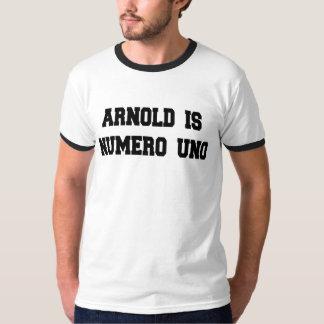 Arnold är Numero Uno T-shirt