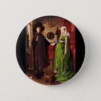 Arnolfini porträtt standard knapp rund 5.7 cm