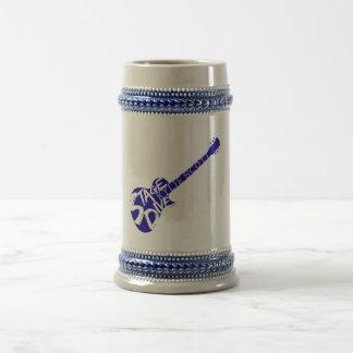 Arrangera öl Stein för dykblåttgitarren Sejdel