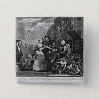 Arresterat för skuld standard kanpp fyrkantig 5.1 cm
