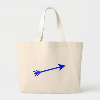 Arrow Blue 15deg The MUSEUM Zazzle Gifts Bags