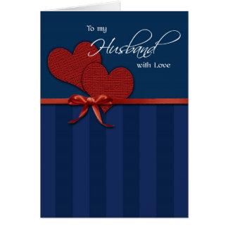 Årsdag - till min make w/love hälsningskort