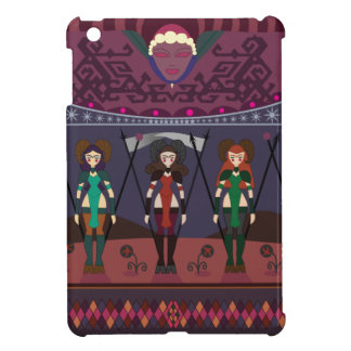 ART DÉCO MARSIAN WARRIORESS iPad MINI FODRAL