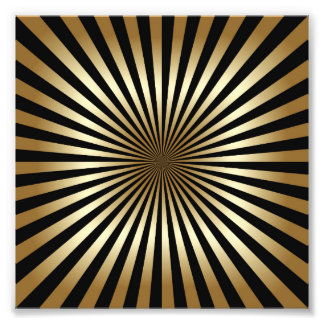 Art déco mönster, randar, guld, svart, vintage,