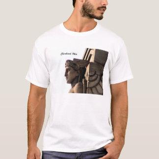 Art déco överbryggar den Cleveland, OH T-tröja T Shirt