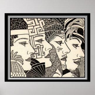 """Art décotryck 16 x 20 """"för tusen liv"""" poster"""