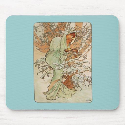 Art nouveau - Alphonse Mucha - vinter Mus Matta