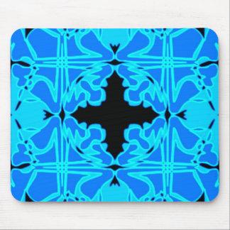Art nouveau belägger med tegel mönster 2 mus matta