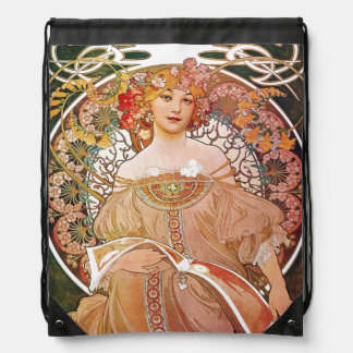 Art nouveau för Alphonse Mucha dagdrömReverie Gympapåse