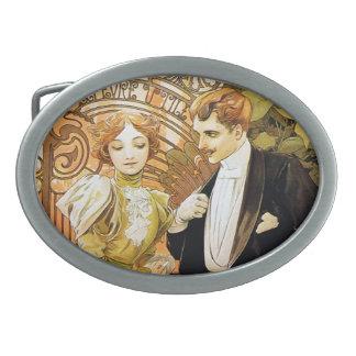 Art nouveau för romantiker för Alphonse Mucha