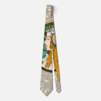 Art nouveau profilerar 1895 slips