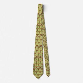 Art nouveau - stil som drar det manuella mönster slips