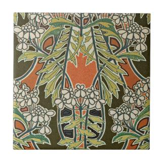 Art nouveaudesign #3 @ VictoriaShaylee Liten Kakelplatta