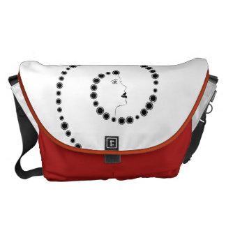 Art nouveaudesign kurir väska
