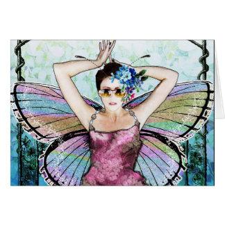 Art nouveaufe Notecard OBS Kort