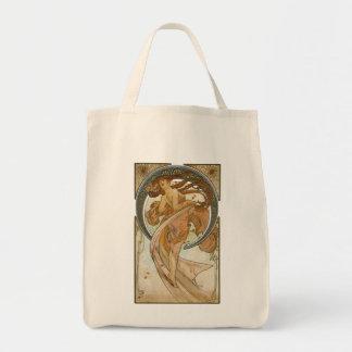 Art nouveaulivsmedeltoto mat tygkasse