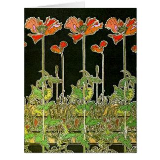 Art nouveauvallmor 1901 jumbo kort