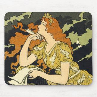 Art nouveauvintage annons - Grasset - Encre L Marq Musmatta