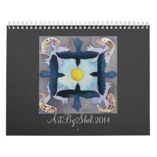 ArtByShel 2014 Kalender