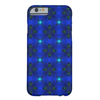 Artdeco abstraktblommor och stjärnor barely there iPhone 6 skal