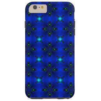 Artdeco abstraktblommor och stjärnor tough iPhone 6 plus skal