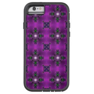 Artdeco abstraktblommor och stjärnor tough xtreme iPhone 6 case