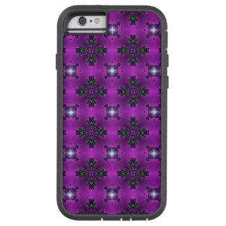 Artdeco abstraktblommor och stjärnor tough xtreme iPhone 6 fodral