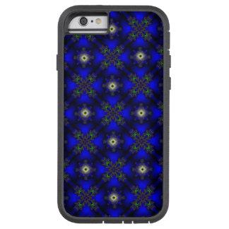Artdeco abstraktblommor och stjärnor tough xtreme iPhone 6 skal